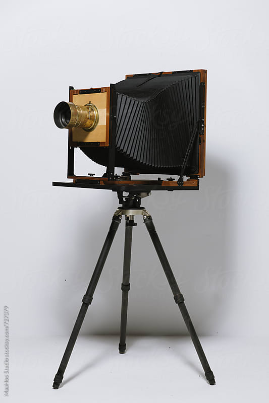 Large format camera by Maa Hoo for Stocksy United