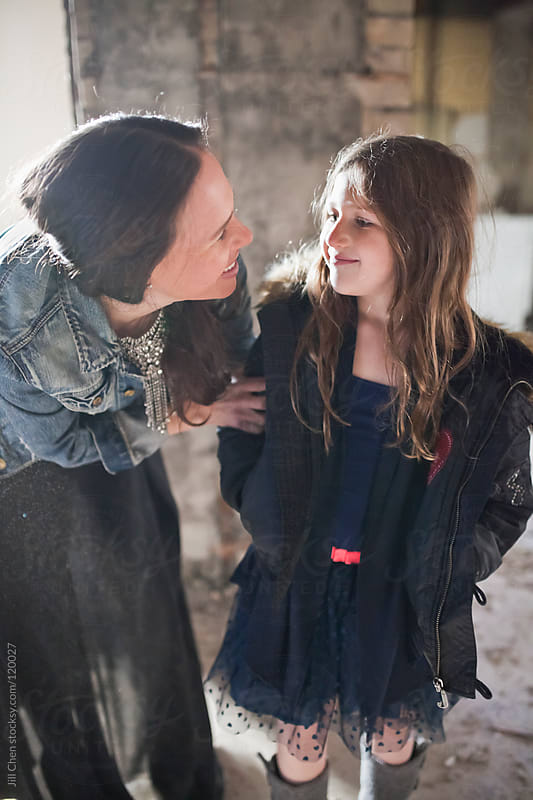 Mother and Daughter by Jill Chen for Stocksy United