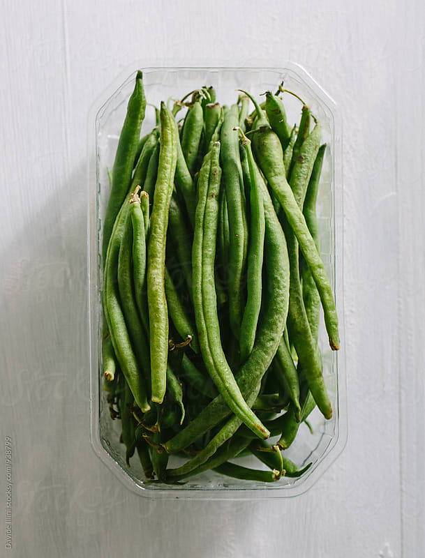Fresh Green Beans by Davide Illini for Stocksy United