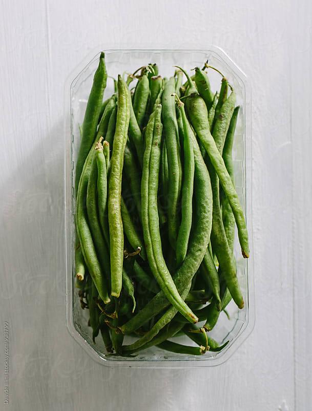 Fresh Green Beans by Davide Illini for Stocksy United