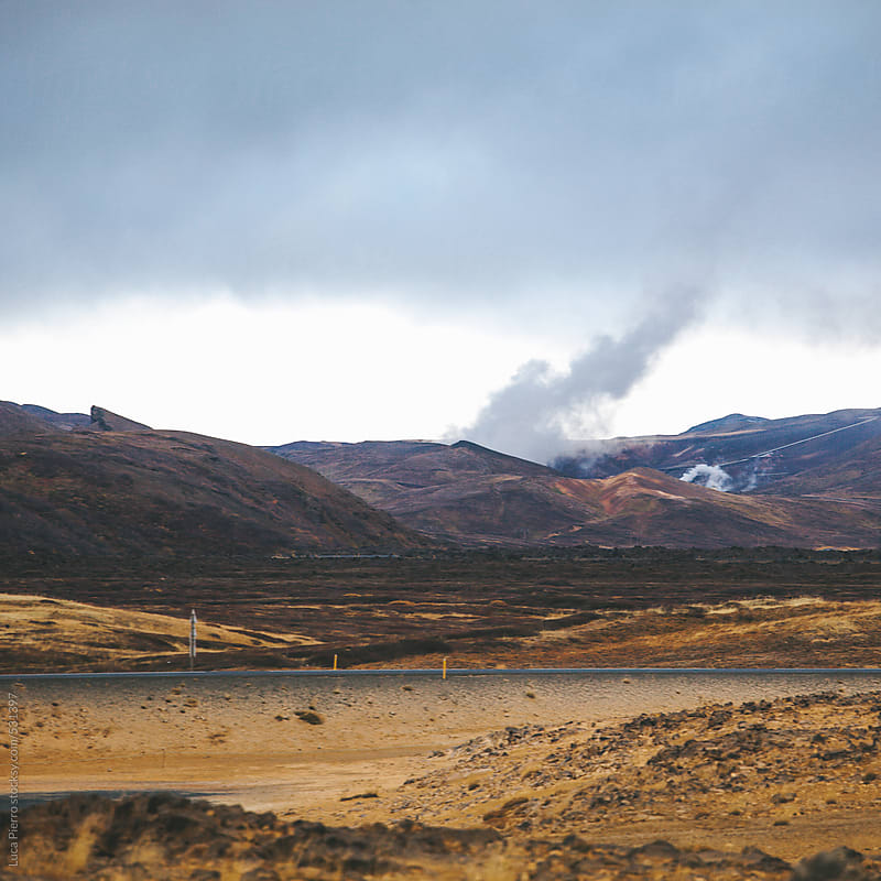 Hverarönd geothermal site, Iceland by Luca Pierro for Stocksy United