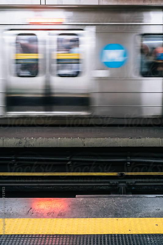 Metro Station in Rio de Janeiro, Brazil. by Mauro Grigollo for Stocksy United