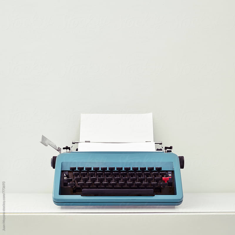 old typewriter by juan moyano for Stocksy United