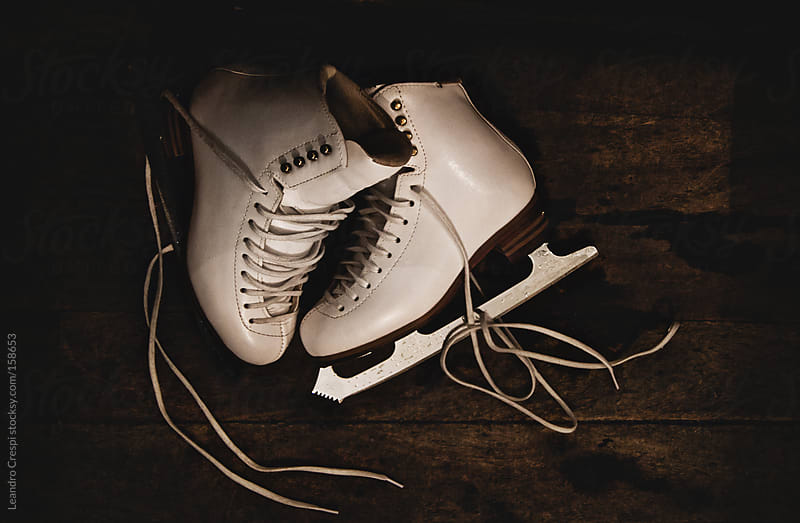 Ice skates by Leandro Crespi for Stocksy United