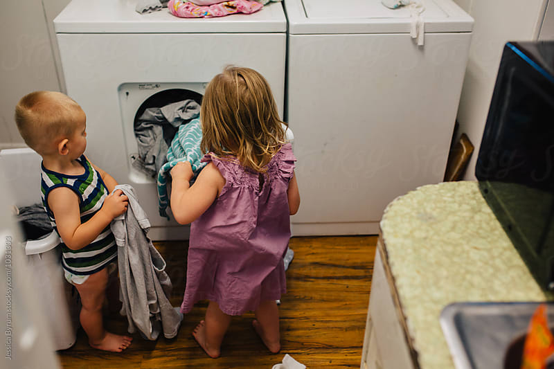 Laundry Helpers by Jessica Byrum for Stocksy United