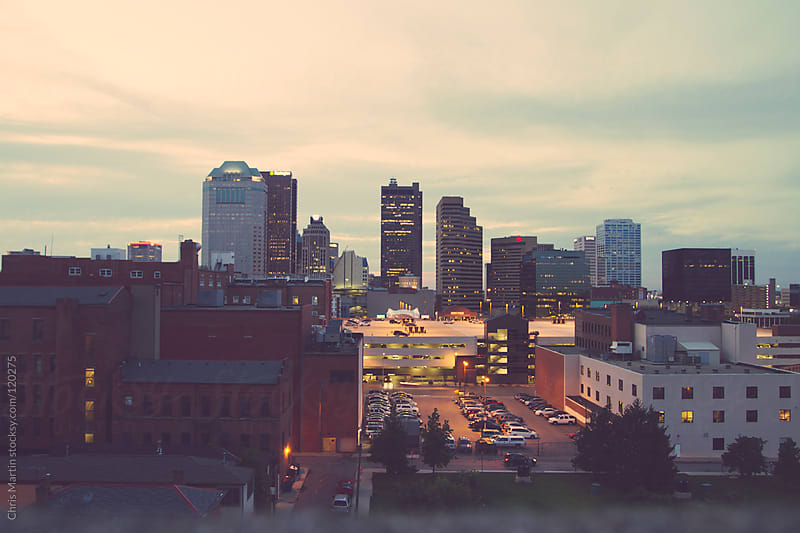 Downtown Columbus by Chris Martin for Stocksy United