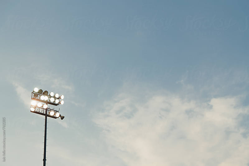 Stadium light by luis felix for Stocksy United