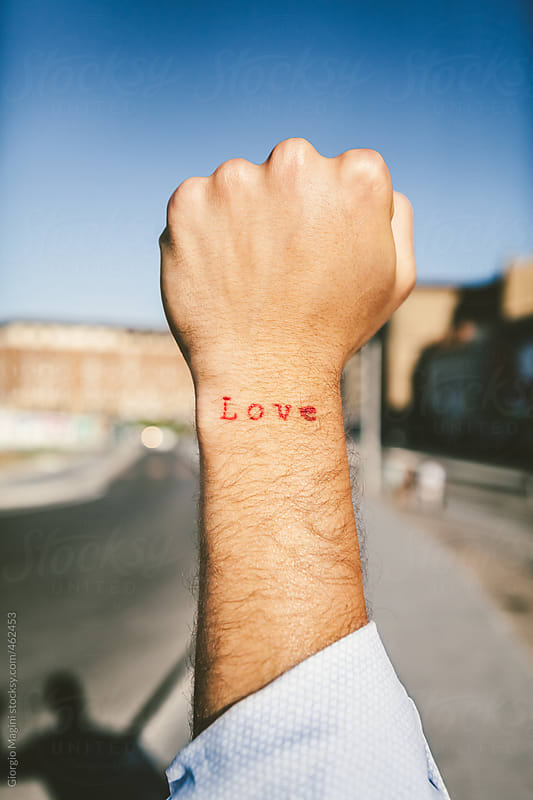 Love Tattoo on the Wrist by Giorgio Magini for Stocksy United