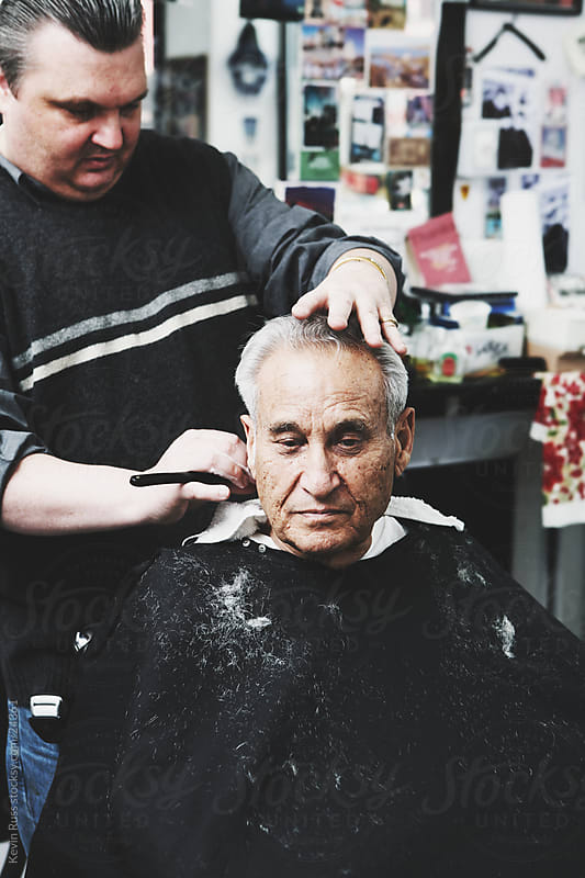 Barbershop Men by Kevin Russ for Stocksy United