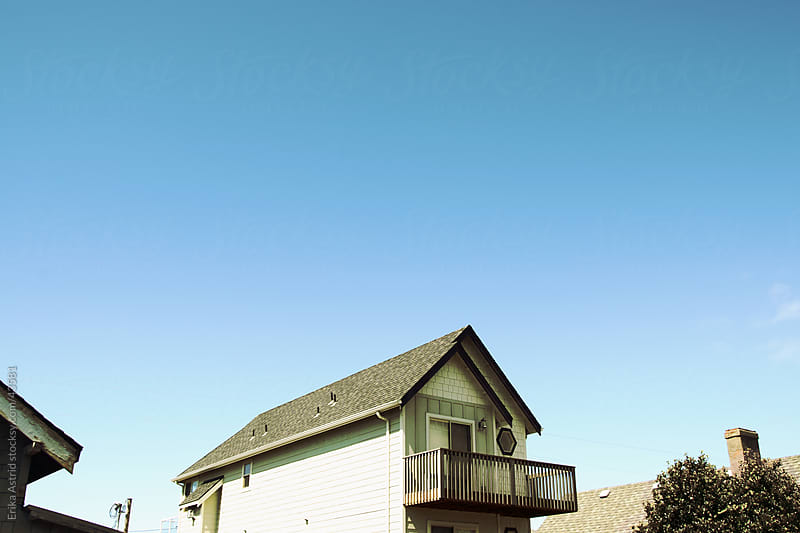 Beach house by Erika Astrid for Stocksy United