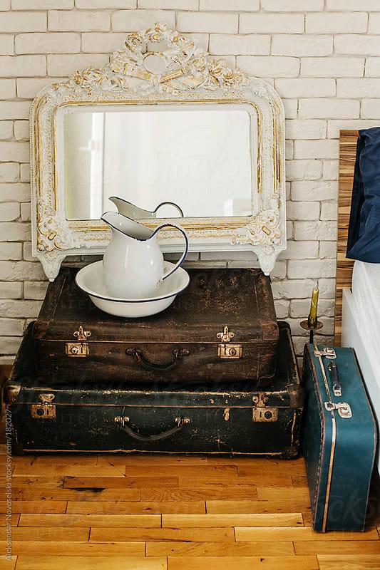 Vintage suitcases by Aleksandar Novoselski for Stocksy United