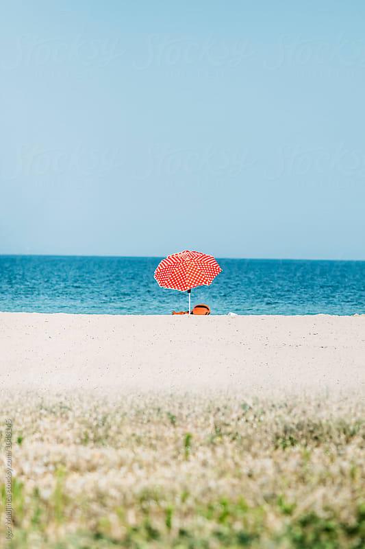 beach, sea,Tourism, travel by Igor Madjinca for Stocksy United