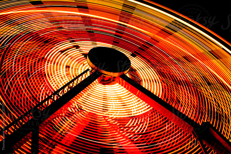 Ferris Wheel detail by Thomas Hawk for Stocksy United