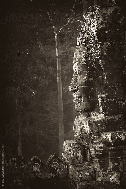 Bayan Temple Angkor Wat Cambodia by Micky Wiswedel for Stocksy United