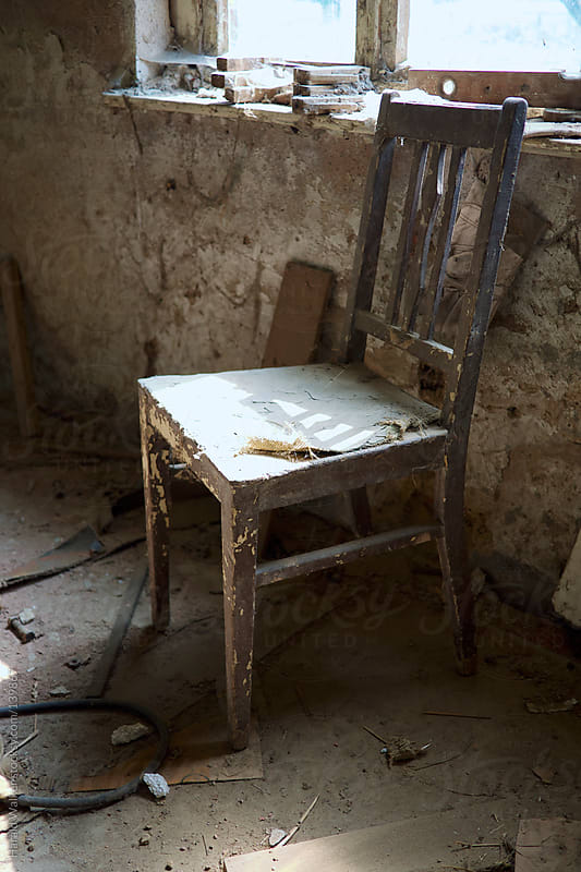 Old chair by Harald Walker for Stocksy United
