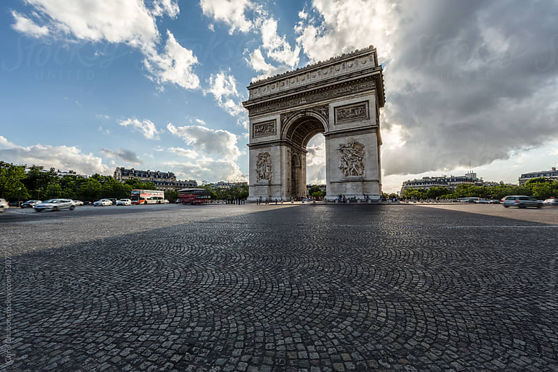 Arc de Triomphe by Chris Chabot for Stocksy United
