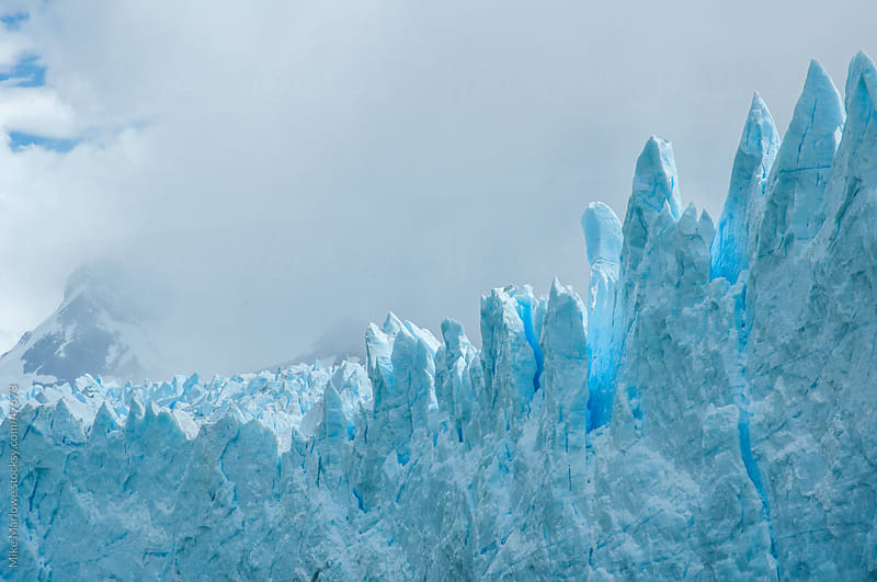 El Perito Moreno ice glacier by Mike Marlowe for Stocksy United