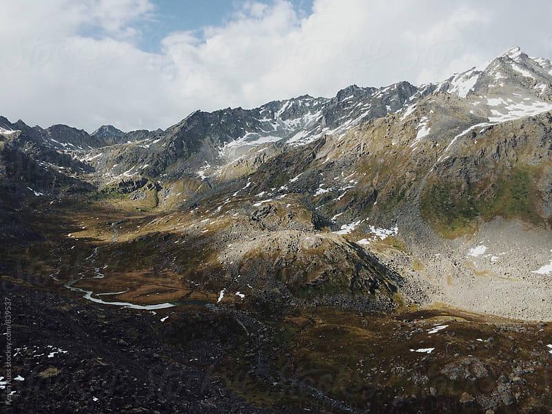 Alaskan Valley of Peaks by Kevin Russ for Stocksy United