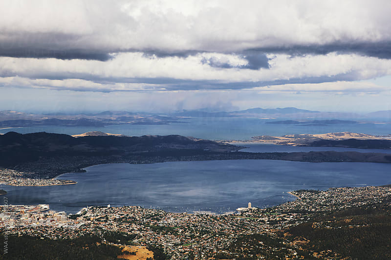 Hobart, Tasmania by WAA for Stocksy United
