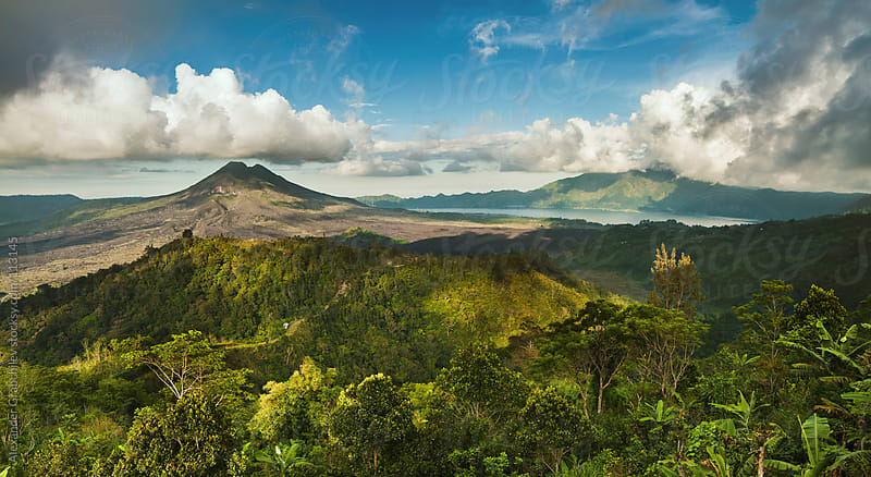Volcanoes of Indonesia by Alexander Grabchilev for Stocksy United