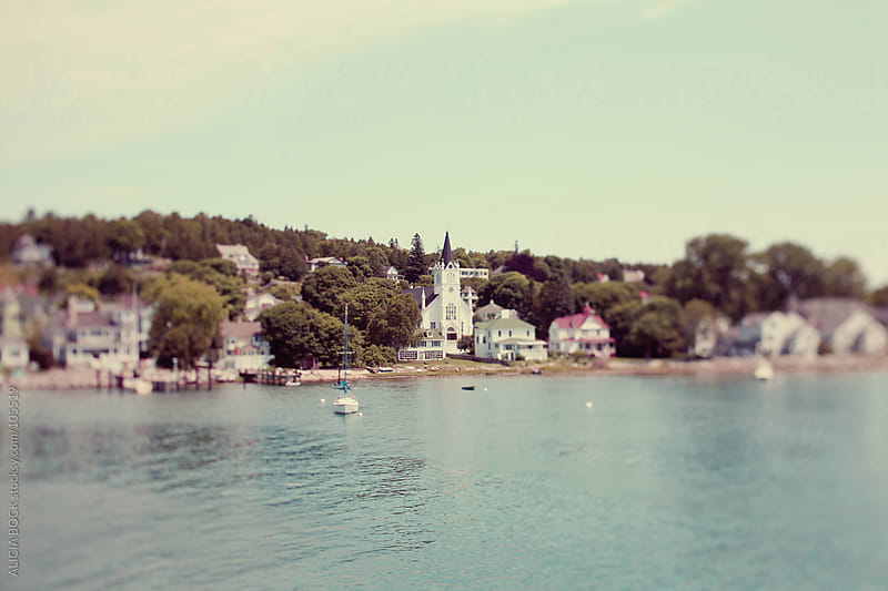 Mackinac Island Harbor by ALICIA BOCK for Stocksy United