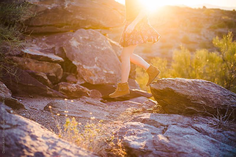 Exploring the desert by Daniel Kim Photography for Stocksy United