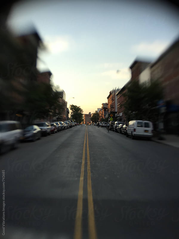 Street in Williamsburg at Sunset by Good Vibrations Images for Stocksy United