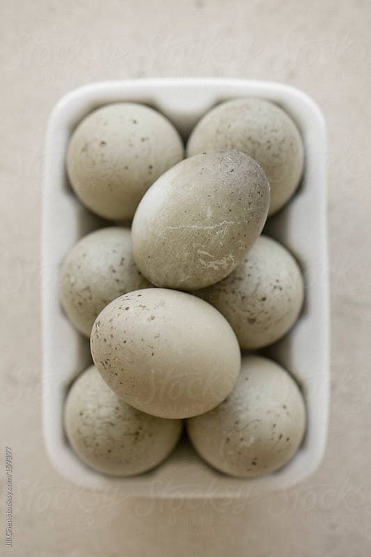 Fresh Duck Eggs by Jill Chen for Stocksy United