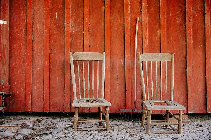 Chair Pair by Gabriel (Gabi) Bucataru for Stocksy United