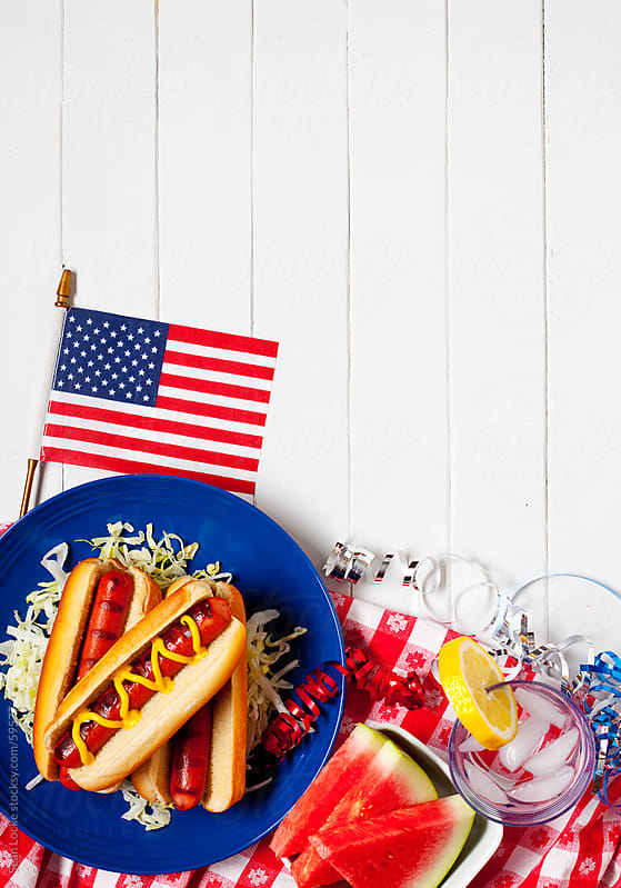 Background: American Summertime Meal by Sean Locke for Stocksy United