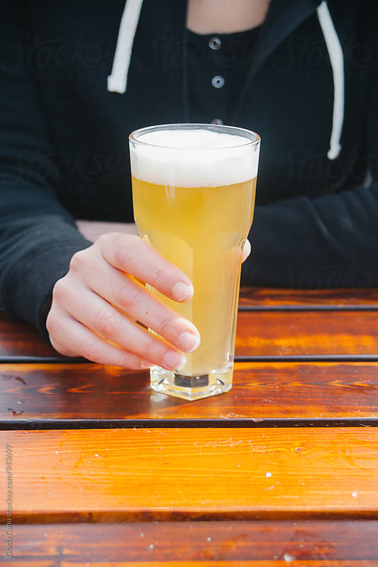 Beer time by Giada Canu for Stocksy United
