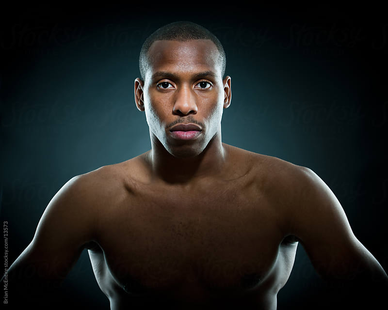Portrait: Determined Boxer by Brian McEntire for Stocksy United