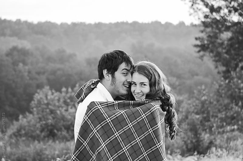 Young girl and her boyfriend by Svetlana Shchemeleva for Stocksy United