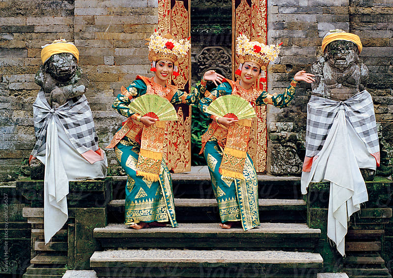 Portrait of  Legong dancers, Bali, Indonesia, Southeast Asia, Asia  by Gavin Hellier for Stocksy United