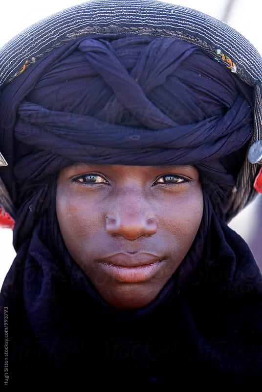 Wodaabe Tribesman. Niger by Hugh Sitton for Stocksy United