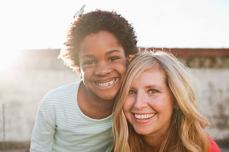 Mom and daughter by Erin Drago for Stocksy United
