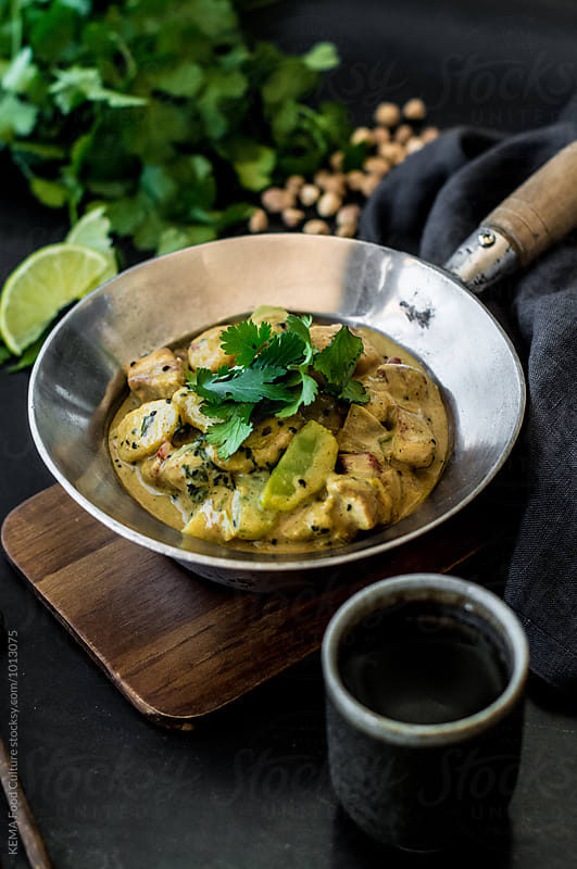 Pork belly curry with nian gao by KEMA Food Culture for Stocksy United
