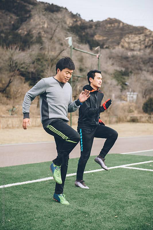 Man exercise training by MaaHoo Studio for Stocksy United