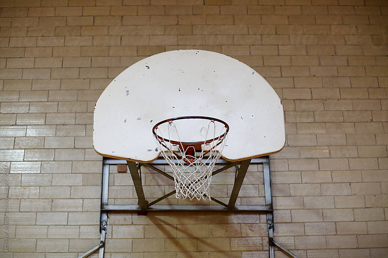 Basketball hoop by Jen Brister for Stocksy United