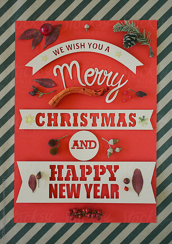 Christmas card  by CACTUS Blai Baules for Stocksy United