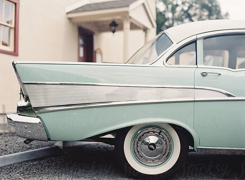 Vintage Chevy Bel Air  by Vicki Grafton Photography for Stocksy United
