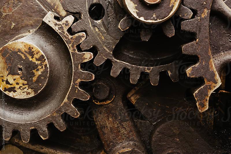 Gear wheel machanic by Urs Siedentop & Co for Stocksy United