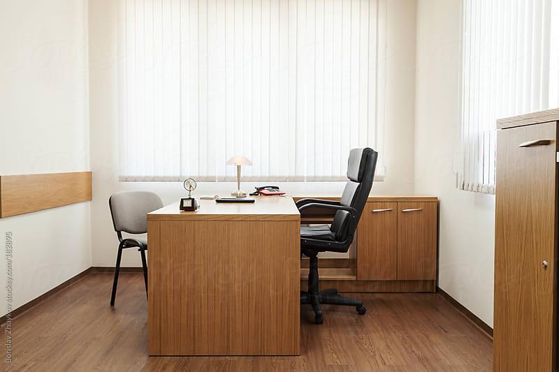 Empty Office by Borislav Zhuykov for Stocksy United