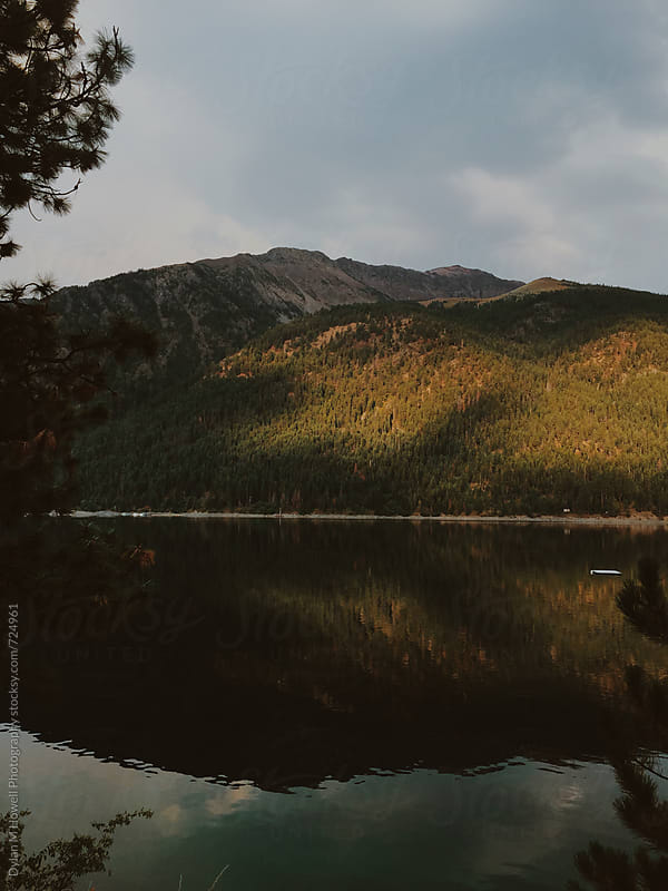 Mountain lake by Dylan M Howell Photography for Stocksy United