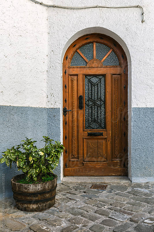 Antique Rural Wooden Door by Victor Torres for Stocksy United