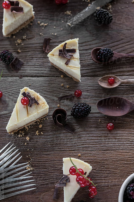 Cheesecake. by Darren Muir for Stocksy United