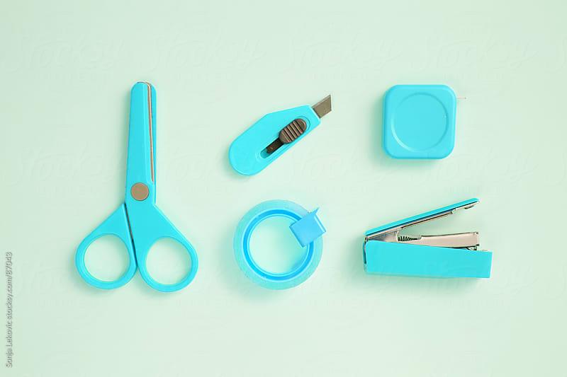 school basic accessories by Sonja Lekovic for Stocksy United