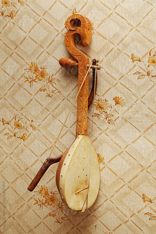 old traditional fiddle by Sonja Lekovic for Stocksy United