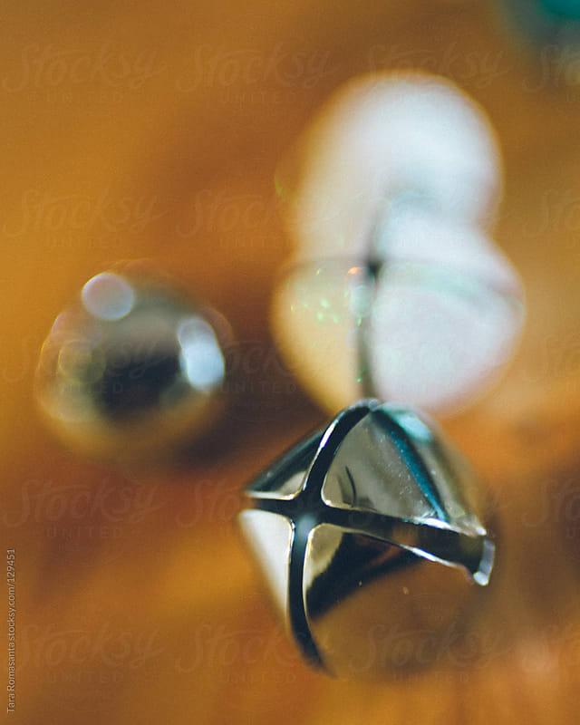 shiny and sparkly jingle bells by Tara Romasanta for Stocksy United