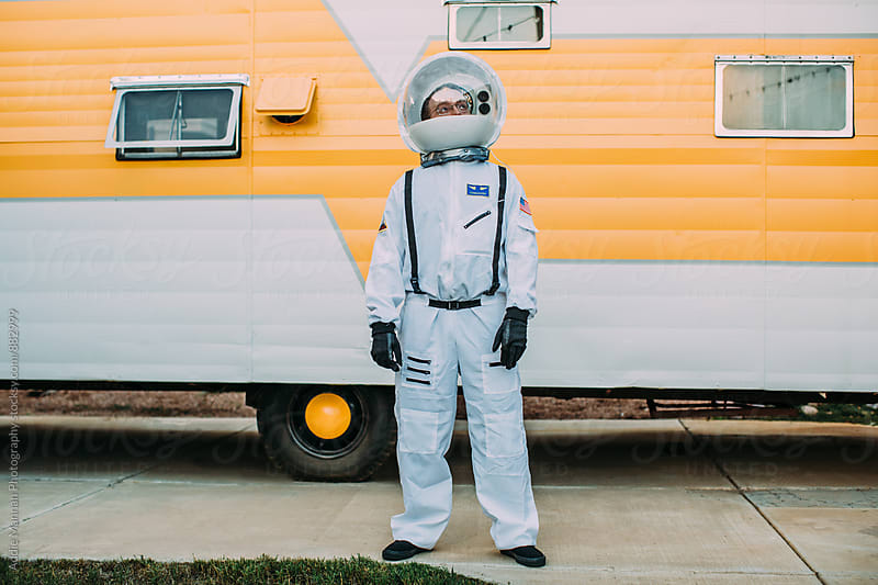 Astronaut by Addie Mannan Photography for Stocksy United